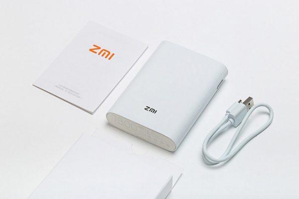 پاور بانک و مودم همراه 4G شیائومی مدل ZMI MF855 با ظرفیت 7800mAh