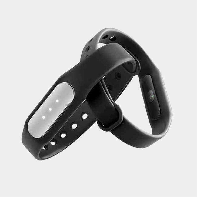 دستبند سلامتی شیائومی مدل Mi Band 1S به همراه بند رنگی   Xiaomi Mi Band 1S Pedometer With Extra Colored Band