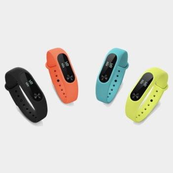 بند سیلیکونی رنگی دستبند سلامتی شیائومی مدل Mi Band 2