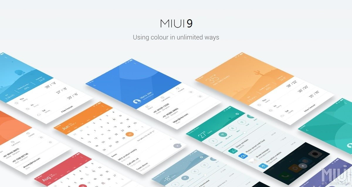MIUI 9 احتمالا به صورت Split Screen خواهد بود