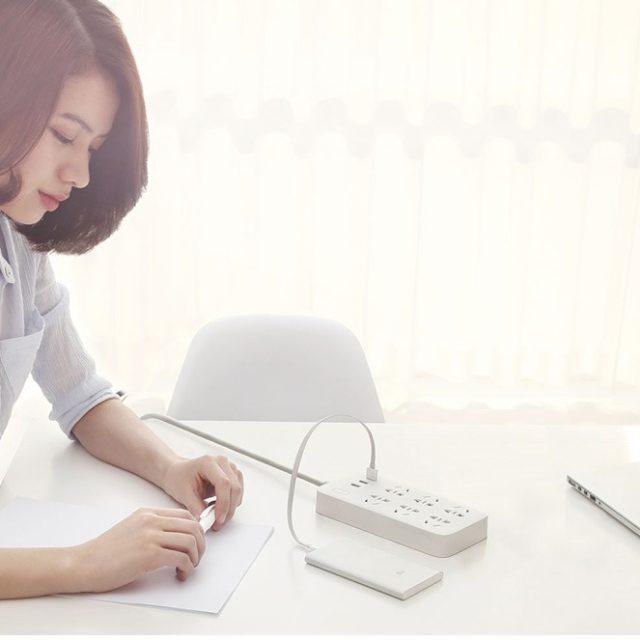 شش راهی برق USB دار شیائومی