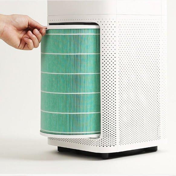 درون فیلتر دستگاه هوشمند تصفیه هوای شیائومی چیست