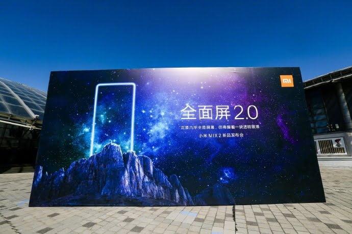 رویداد رونمایی Mi MIX 2 در تاریخ 11 سپتامبر در پکن