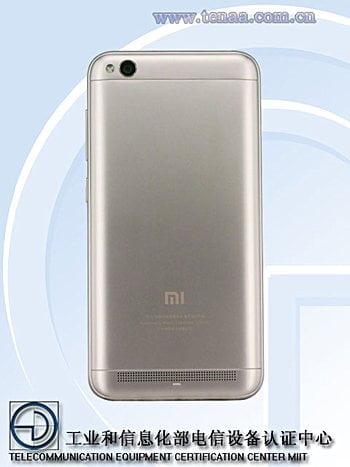 گوشی MCT3B شیائومی در سایت TENAA با دوربین 13 مگاپیکسلی و سیستم عامل Android 7.1.2 دیده شد