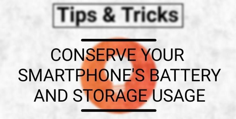 باتری و حافظه گوشی هوشمند خود را حفظ کنید