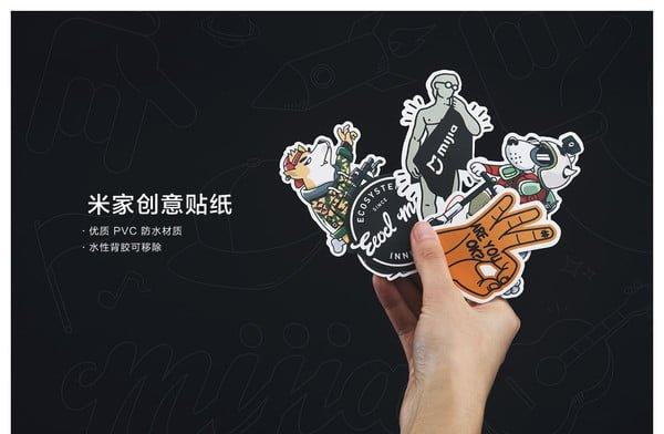 شیائومی پک استیکرهای خلاقانه میجیا را عرضه کرد