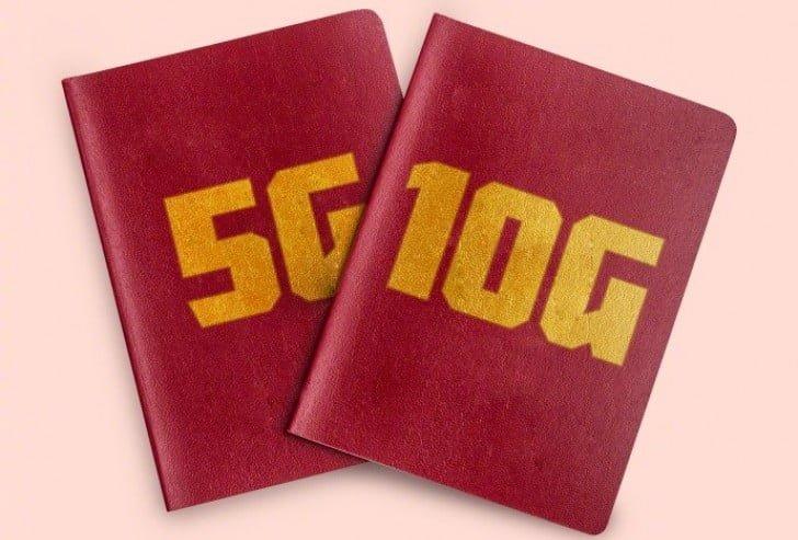 ۵G network