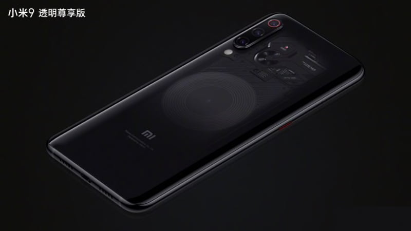 Xiaomi Mi 9 Transparent edition-