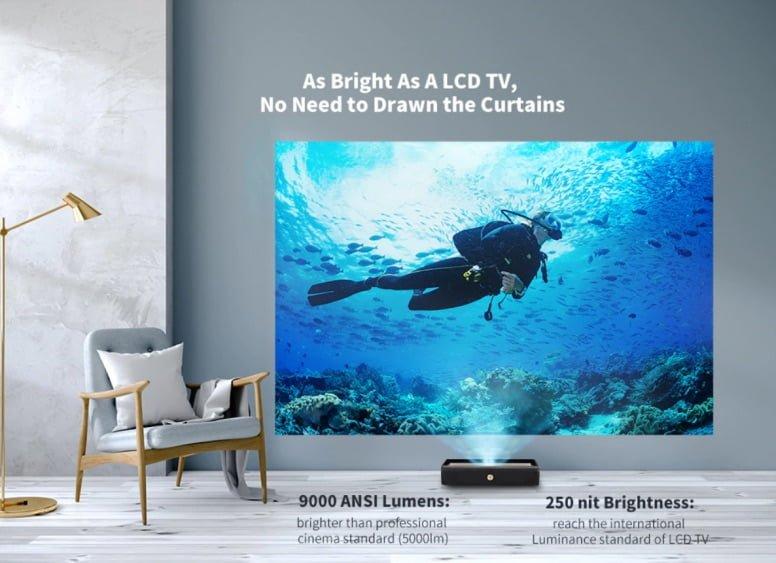 Xiaomi WEMAX 9000 ANSI Lumens 4K