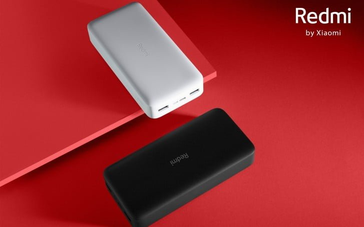Redmi power banks with two-way fast charging
