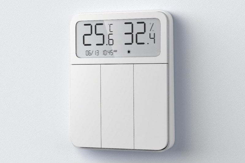 The new Xiaomi mijia thermostat is also a smart switch
