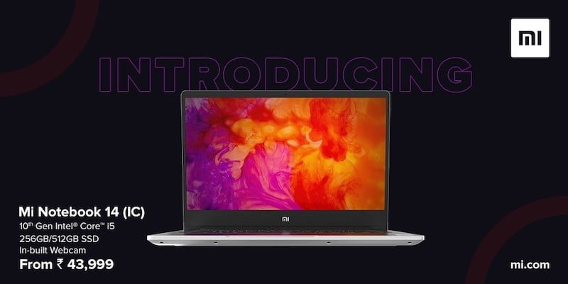 The new Xiaomi Mi Notebook 14 is equipped with a webcam