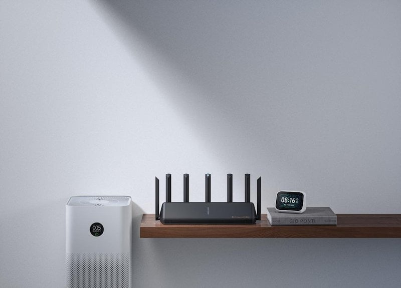 The Xiaomi AX6000 router sells for 599 yuan in China
