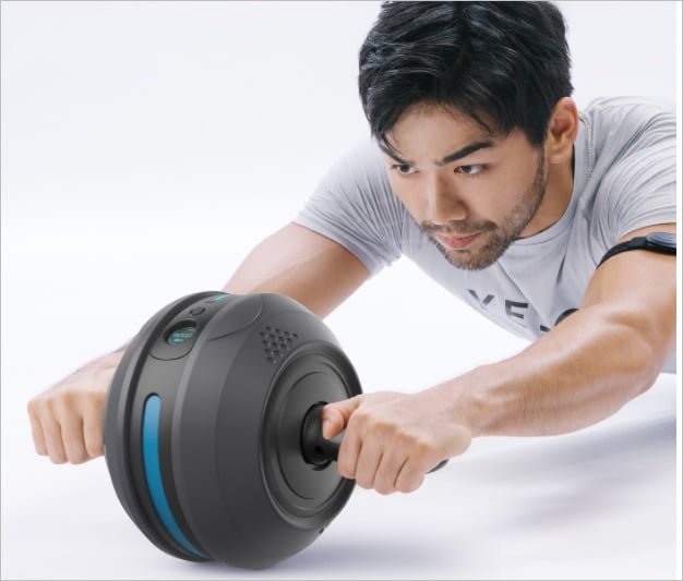 Xiaomi funded the YESOUL Abdominal Sports Smart Wheel for 199 yuan