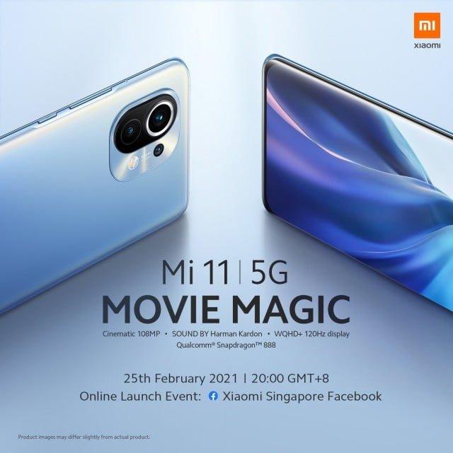 The Xiaomi Mi 11 will enter the international market on February 25