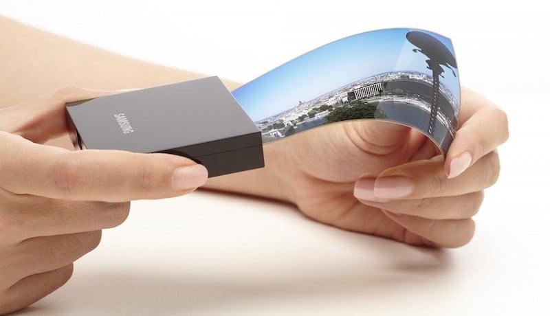 Samsung foldable OLED panels