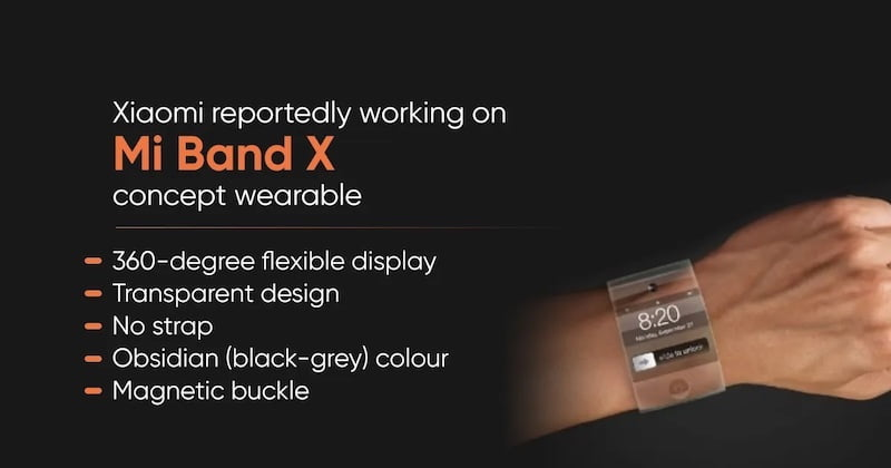 Xiaomi is working on a Mi Band X