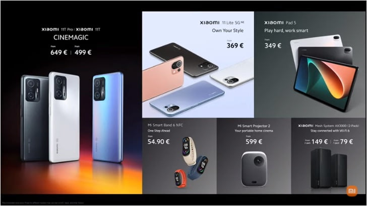 xiaomi-products
